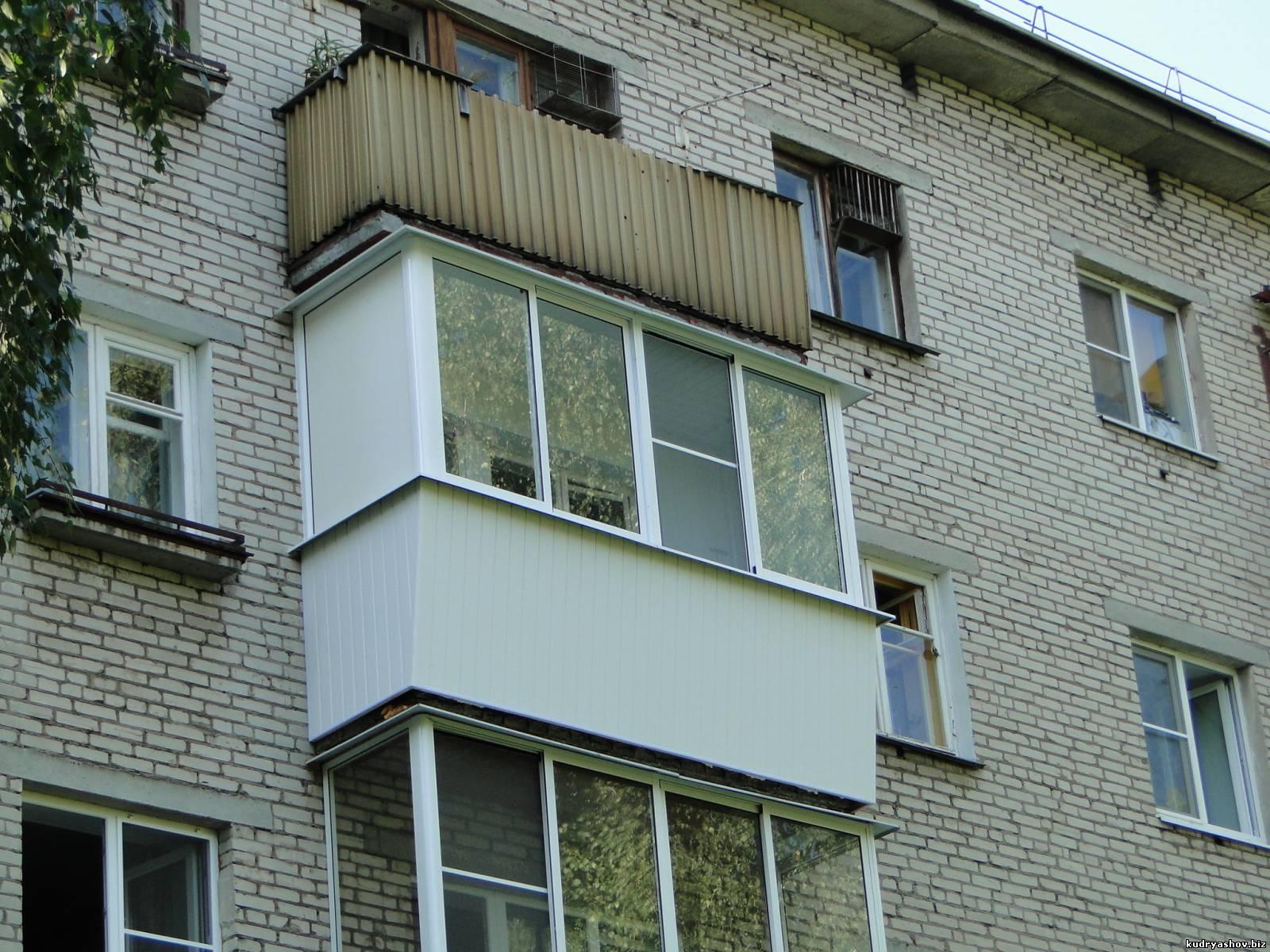 Балконы и лоджии - фотоальбомы - пластиковые окна ногинск ку.
